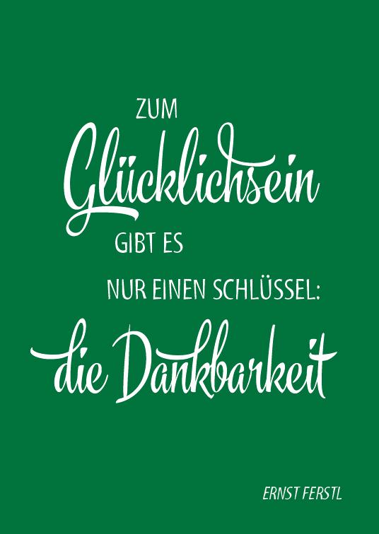 Spruch-Postkarten-Set in DIN A6 - (12 Postkarten)