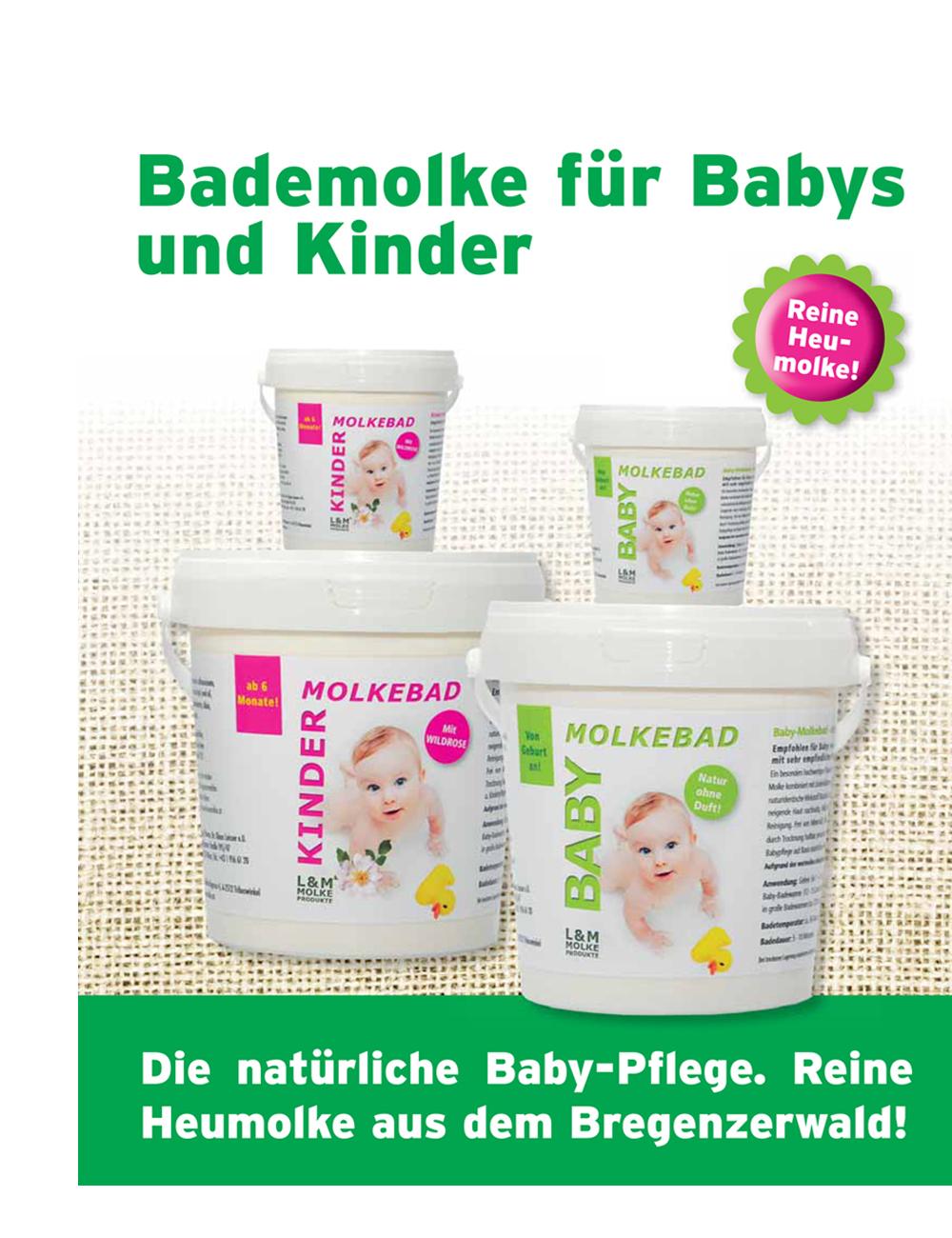 Molkebad für Baby  100 gr