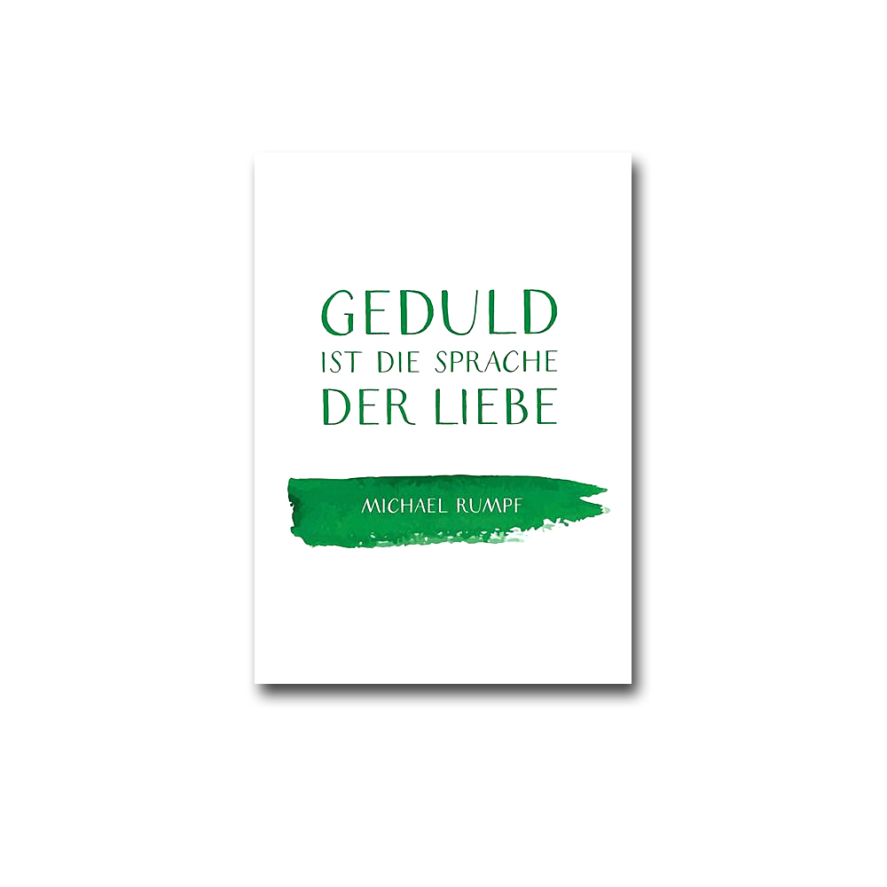Spruch-Postkarten-Set in DIN A6 - Dr. Michael Rumpf (12 Postkarten)